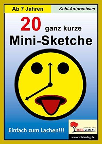 20 ganz kurze Mini-Sketche