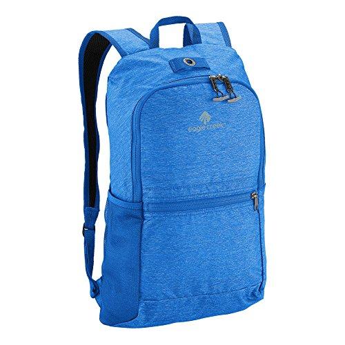Eagle Creek Ultraleichter faltbarer Tagesrucksack Packable Daypack mit Netzfach für Trinkflasche Rucksack, 45 cm, 13 L, blau Sea