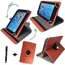 Onda V919Air–Teclado alemán Tablet Funda con función atril–9.7pulgadas teclado naranja naranja