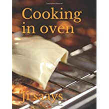 Cooking in oven