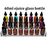 Présentoir de bouteille porte-bouteille eliquid (Support de bouteille en verre 60ml)