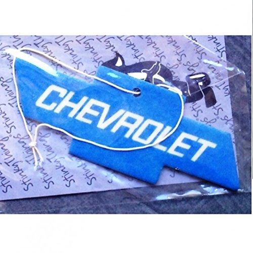 hotrodspirit-lufterfrischer-chevrolet-blau-logo-auto-cruze-camaro-corvette