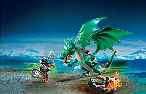 PLAYMOBIL Caballeros - Playset Gran dragón (6003) 4