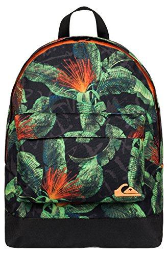 Quiksilver Everyday Poster Backpack - Mochila para hombre, hombre, Rucksack Everyday Poster Backpack, BP AG47 Remix Black, 41 x 32 x 12 cm, 1,2 Liter