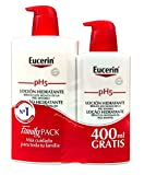 Eucerin Family Pack Ph5, Locion 1000 ml y Locion 400 ml, total 1400 ml
