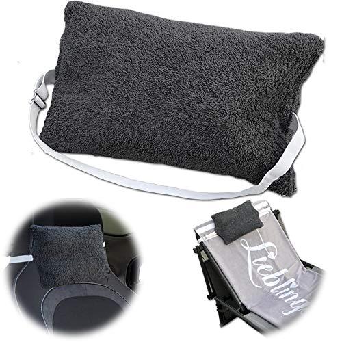 JEMIDI Kissen mit Verstellbarem Gummizug für Sonnenliegen und Stühle Multikissen für Strandlaken...
