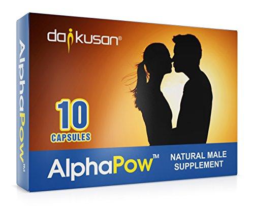 Testosteron-enhancer (AlphaPow Ultra Strong Alle Natürliche Männliche Ergänzung Energie)