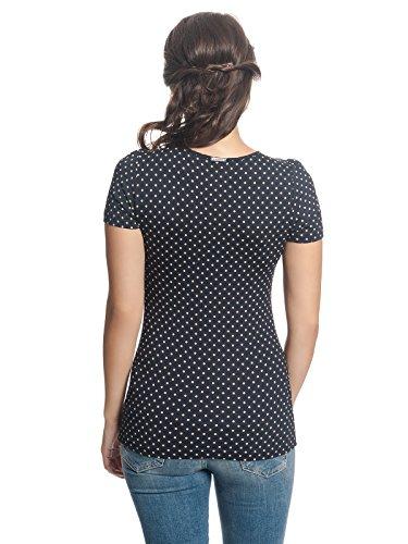 Vive Maria Lucky Star Shirt, T-Shirt Donna Blau (Marine Allover-Print)