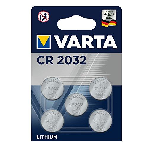 Varta Batterien Professional (CR 2032, Lithium Knopfzellen, 5er Pack)