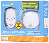 Safety 1st Crystal Clear Baby Monitor Wh...
