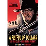 Film Maxi Poster featuring Clint Eastwood in A Fistful of Dollars 61x91.5cm