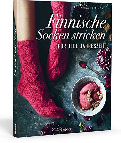 Finnische Socken stricken für jede Jahreszeit. Von dünnen Strümpfen bis Wintersocken: Sockenmode im skandinavischen Design. Kreative Strickmuster für Strickanfänger und Fortgeschrittene.