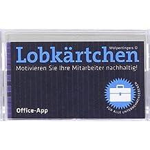 Lobkärtchen Office / 100 Papierkärtchen: Motivieren Sie Ihre Mitarbeiter nachhaltig!
