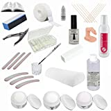 Sun Garden Nails Kit Set Profi Acrílico con reposamanos