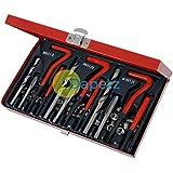 Daptez® 88 pc Helicoil reparar garaje M6 M8 M10 taller juego de herramienta claqué nvdr dípticas