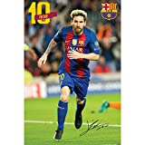 #3: F.C. Barcelona Large Poster Messi 11