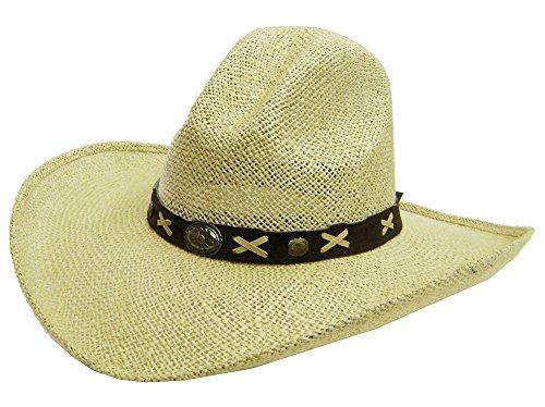 modestone-unisex-large-brim-straw-cappello-cowboy-tan