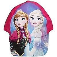 Kappe Schirmmütze Mädchen Prinzessin Schneekönigin Elsa Anna Größe 52-54 Einstellbar