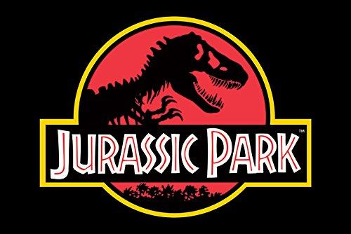 Jurassic Park 'Classic Logo' Maxi Poster,61 x 91.5 cm