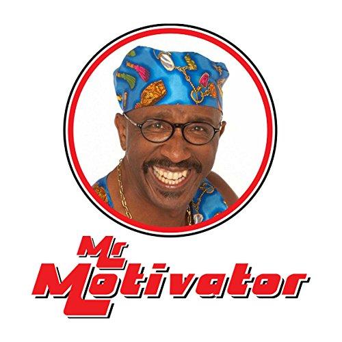 Mr Motivator Retro Photo Frame Men's Baseball Long Sleeved T-Shirt White/Red