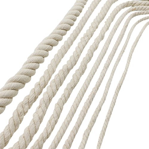 Gorgebuy Decoraciones hechas mano Cuerda algodón