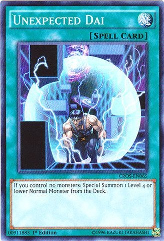 Yu-Gi-Oh - Unexpected Dai CROS-EN065 - Crossed Souls - 1st Edition - Super Rare
