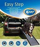 Duvo+ Easy Step Rampe Voiture en Plastique pour Chien de 50 kg Maximum Gris 43 x 40 x 26 cm