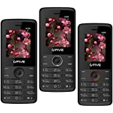 G'Five U229 Combo Of 3 Basic Mobiles (Black+BlackBlue+BlackOrange)