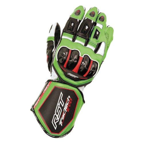 Nuovo RST Tractech Evo Ce 2579 moto sport guanto verde