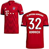 adidas FCB Heimtrikot 2018 2019 Kinder Kimmich 32 Gr 164