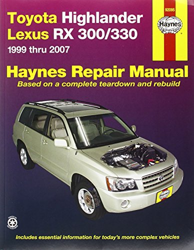 toyota-highlander-lexus-rx-300-330-1999-thru-2007-haynes-manuals