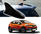 #1: Auto Pearl - Premium Quality Black Shark Fin Replacement Signal Receiver Antenna For - Renault Captur