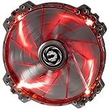 BitFenix Spectre PRO BFF-LPRO-20025R-RP Ventilateur avec LED Rouge pour boitier 200 mm Noir