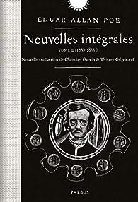 Nouvelles intégrales 02 : 1840-1844 par Edgar Allan Poe