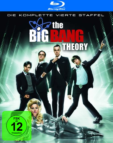 Cover The Big Bang Theory - Die komplette vierte Staffel [Blu-ray]