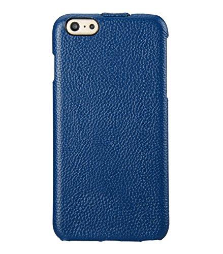 Melkco Jacka type Ledertasche für Apple iPhone 6 schwarz Blau LC 1