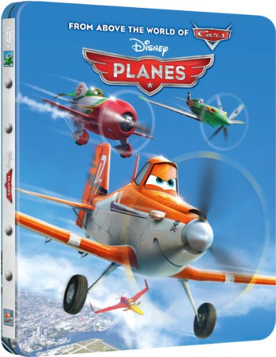 Planes - Zavvi Exclusive Limited Edition Steelbook (The Disney Collection #5) [UK Import]