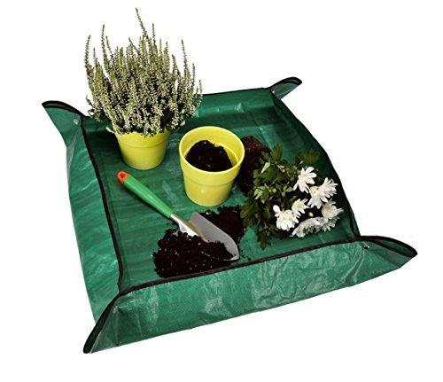 Plantes Sous-main umtopfun terlage Bâche de jardin plantes Tapis Tapis Tapis de protection de repiquage multi-usages Tapis 80x 80cm