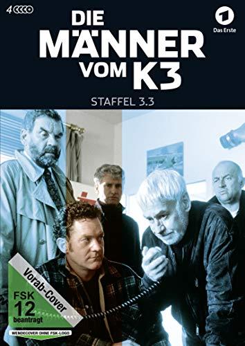 3 Pack-serie (Die Männer vom K 3 - Staffel 3.3 [4 DVDs])