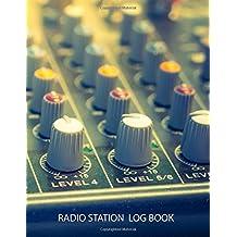 Radio Station Log Book : HAM : Log Book Journal : Amplifiers: (Centurion Logbooks/Record Books)