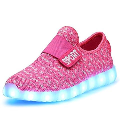 JTENGYAO LED Light Up Shoes Fashion Sneaker for Men Women Kids Child Boy Girls