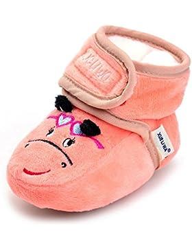 LCLrute Qualität Neugeborenes Baby-Baby-Mädchen-Karikatur-Krippe-Winter-warme Schuhe Weiche alleinige Anti-Rutsch-Stiefel