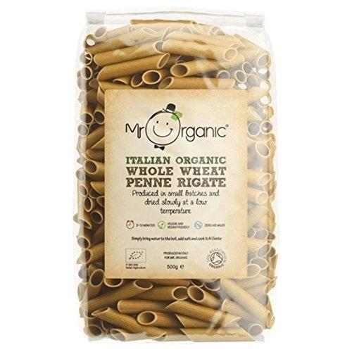 Mr Organic Grano Intero Penne 500g (Confezione da 2)