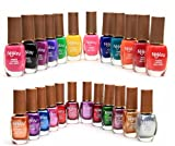 Foolzy Pack of 24 Multicolor Nail Paint Polish (FOO-NP-TP10)