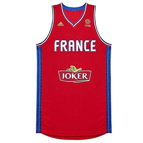 adidas Maillot Equipe de France Basket Ball FFBB R JSY AI632.