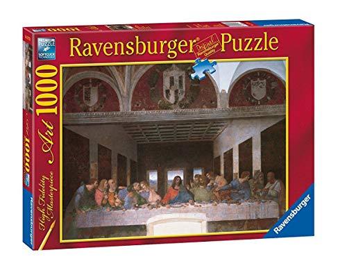 Ravensburger - Arte: Leonardo, La Ultima Cena, Puzzle de 1000 Piezas (15776 1)