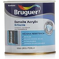Bruguer - Esmalte acrílico gris perla bruguer 250 ml