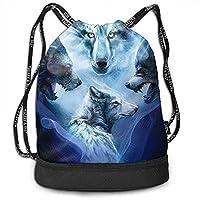 Bernie Dodd Drawstring Backpack Drawstring Bag Sport Gym Sackpack Drawstring Backpack Bag Sport Gym Sackpack Wolfs Gym Bag