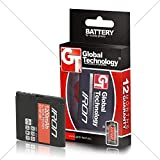 GLOBAL TECHNOLOGY BATTERIES GT IRON pour Nokia E51/N81/6720 1300 BP-6MT