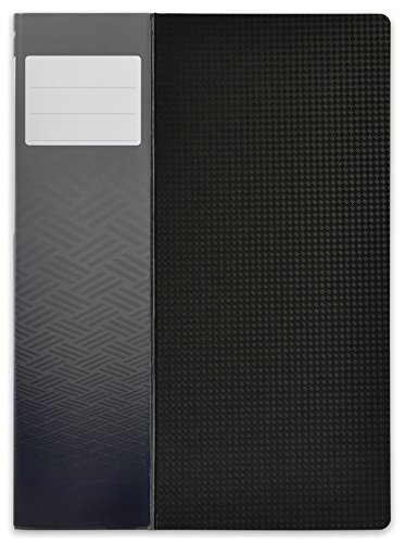 Elba-Memphis-A4-Polypropylene-120-Sides-Black-Opaque-Black-Stand-Up